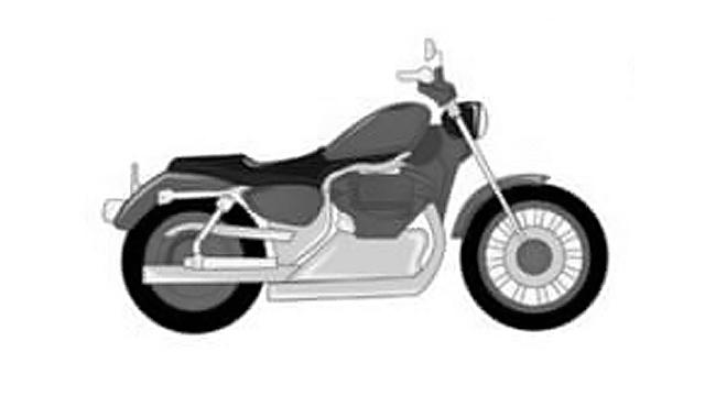 Moto cruiser, chopper, custom