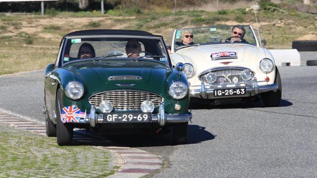 Passeio de Desportivos Ingleses - Évora