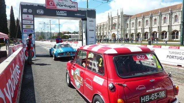 Clássicos no Rally de Portugal - Jerónimos