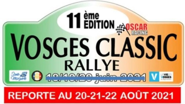 Vosges Classic Rally