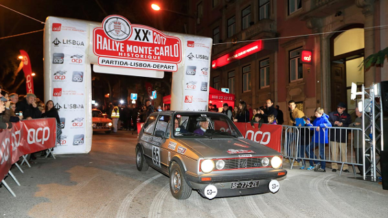 Rally Monte Carlo Histórico 2016 VW Golf GTi
